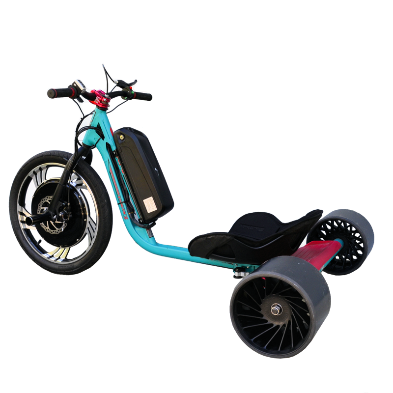 eDriftTrikes - Baseline Electric Drift Trike Left Rear Quarter