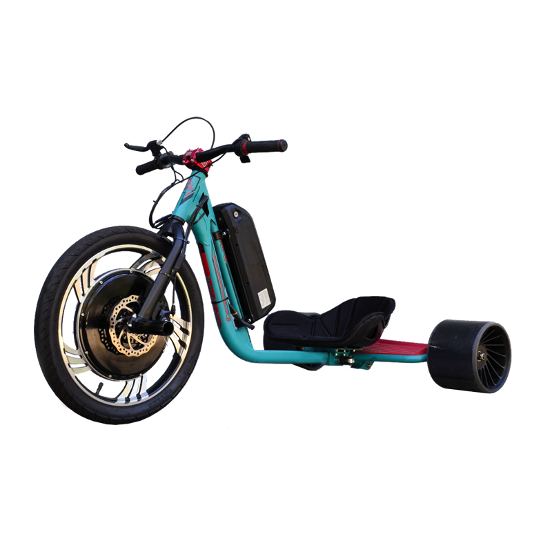 eDriftTrikes - Baseline Electric Drift Trike Front Left Quarter