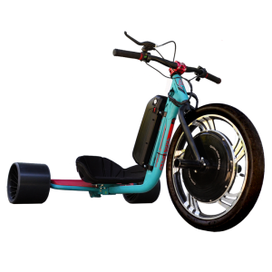 eDriftTrikes - Baseline Electric Drift Trike Front Right Quarter