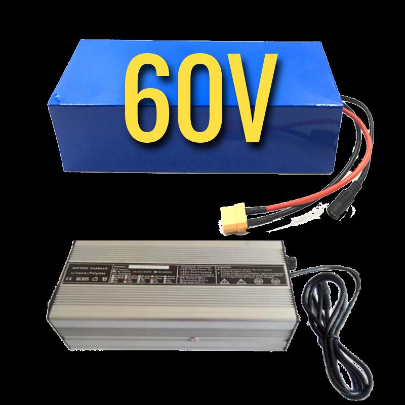 eDriftTrikes - Mid Power 60V Electric Drift Trike Battery