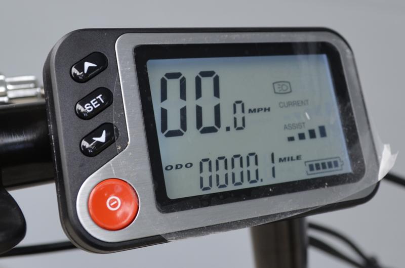 eDriftTrikes Electric Cruiser Bike LCD Display