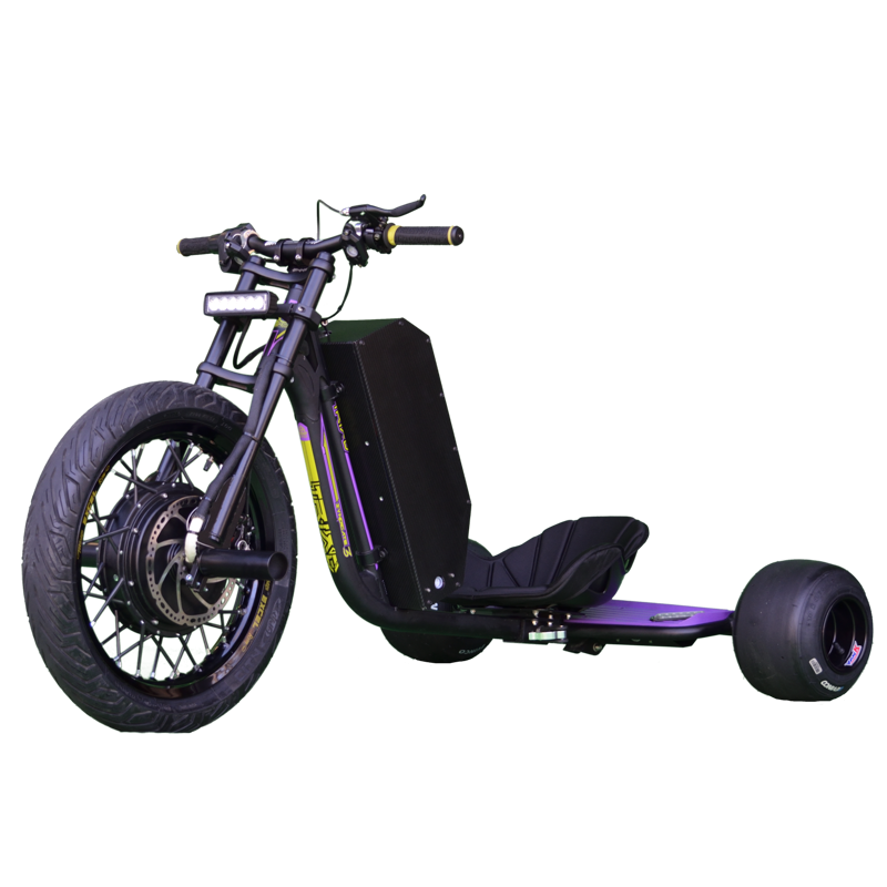 eDriftTrikes - High Power Electric Drift Trike Front Quarter