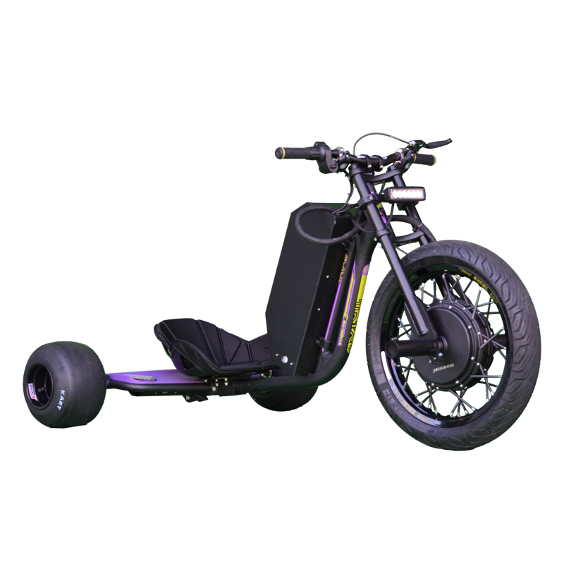 eDriftTrikes - High Power Electric Drift Trike Front Right Quarter