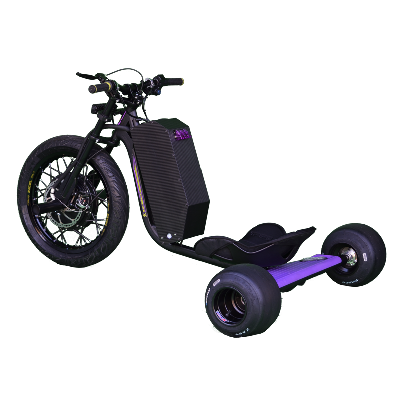 eDriftTrikes - High Power Electric Drift Trike Left Rear