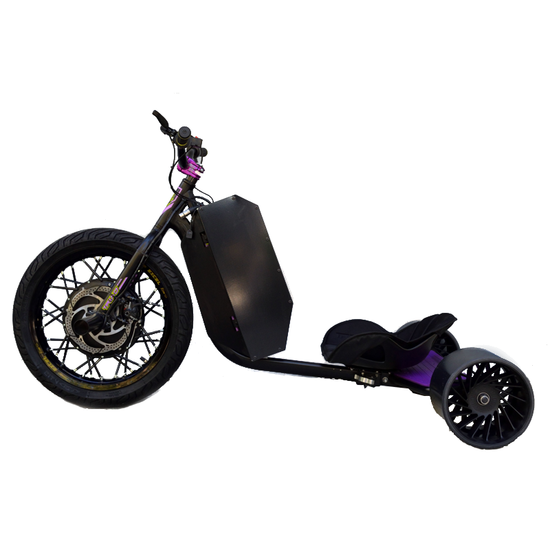 eDriftTrikes - Mid Power Electric Drift Trike Profile