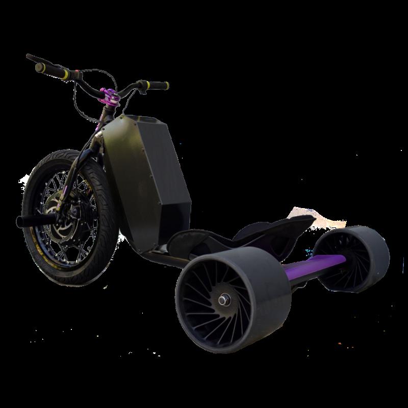 eDriftTrikes - Mid Power Electric Drift Trike Left Rear