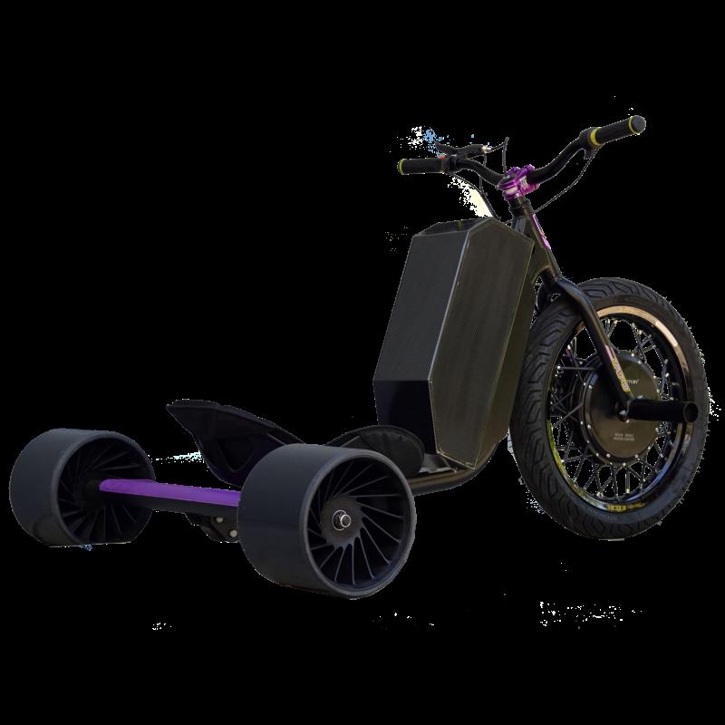 eDriftTrikes - Mid Power Electric Drift Trike Right Rear